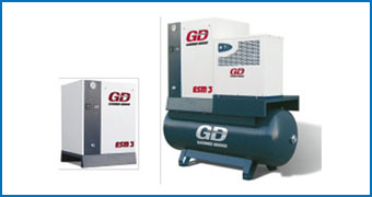 Máy Nén Khí Gardner Denver Fixed Speed ESM 2-6 Series (2.2-7.5 kW)