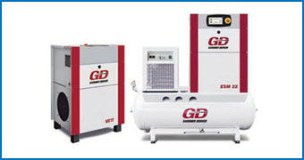 Máy Nén Khí Gardner Denver Fixed Speed ESM 7-22 Series (7.5-22kW)
