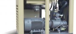 Cấu tạo của máy nén khí trục vít