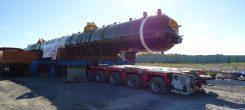 Vận chuyển máy nén khí làm tắc đường ở Việt Nam
